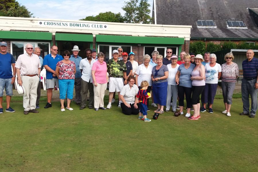 Crossens Bowling Club v Victoria Park Bowling Club challenge friendly