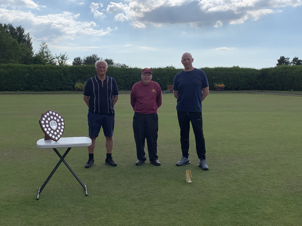 Pres Day 2021 Runners up Keith Sproston and Roger O'Neill